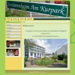 Neue Webseite für das Seniorenheim Am Kurpark