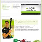 Neue Webseite für das Orthofit Fitnessstudio in Bad Soden – Salmünster