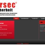 Neue Webseite für persec Sicherheit®